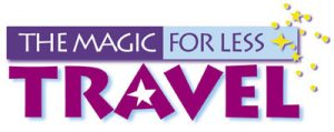 The Magic For Less Travel logo